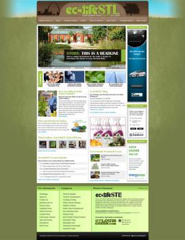 EcoLifeSTL.com Website Design