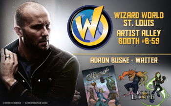 Adron Buske at Wizard World St. Louis 2014