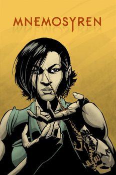 Comic: Mnemosyren cover art David Thor Fjalarsson, colors Gene Kelly