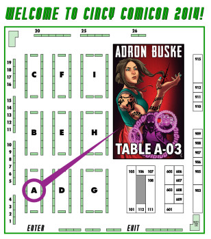 CincyCon Floor Plan