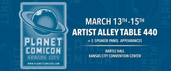Planet Comicon 2015 appearance
