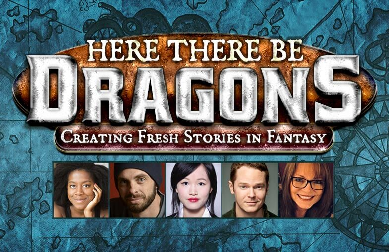 Here There Be Dragons panel at San Diego Comic Con 2018