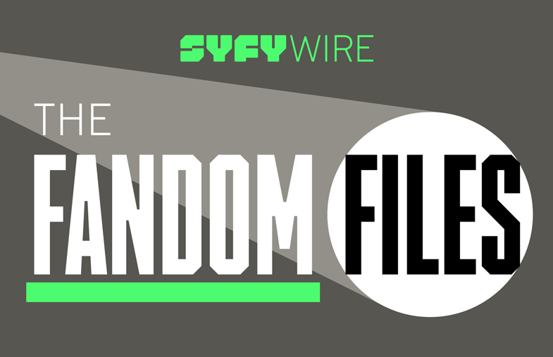 SYFY The Fandom Files podcast