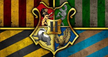 Hogwarts houses crest
