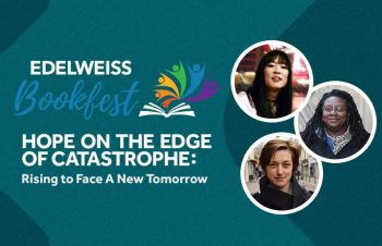 Edelweiss Bookfest 2021 —Hope on the Edge of Catastrophe panel