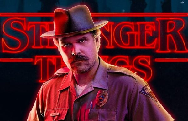 David Harbour stars as Sheriff Jim Hopper on Stranger Things —Interview with Nerd For A Living's Adron Buske