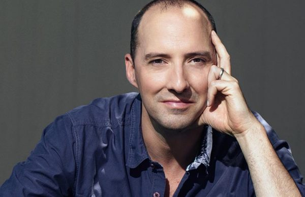 Actor and author Tony Hale