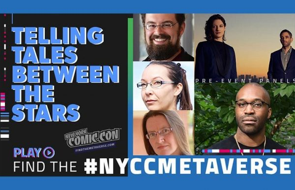 New York Comic Con Metaverse Panel —Telling Tales Between the Stars