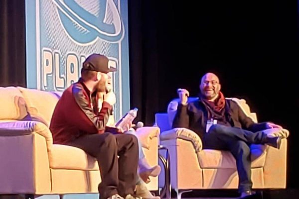 Planet Comicon —Mainstage interview with Overwatch voice cast